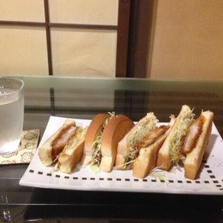 カツトーストサンド(珈琲工房てらまち )
