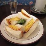 コロナの玉子サンドイッチ・元味(喫茶ガボール (喫茶 le GABOR))