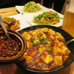 麻婆豆腐(桂林米粉 山水家 (ケイリンコメコ サンスイヤ))