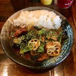 インド風カレー チキン+野菜