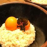 熊のたまごかけご飯(熊の焼鳥 )