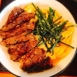ステーキ丼(蔵屋 )