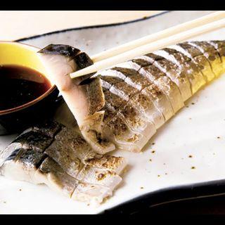 銀鯖の炙り(にぎり屋八べゑ)