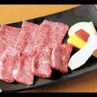 お肉盛り合わせ(焼肉 山水 銀座店)