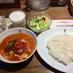 トロ豚とキャベツとトマトのカリー(チャントーヤ ココナッツカリー (CHANTOYA COCONUT CURRY))