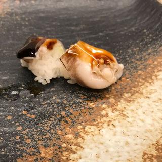 とり貝の寿司  おまかせコースのお寿司(みさき )