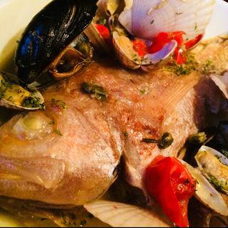 真鯛のアクアパッツァ(ピッコロバンビーノ )