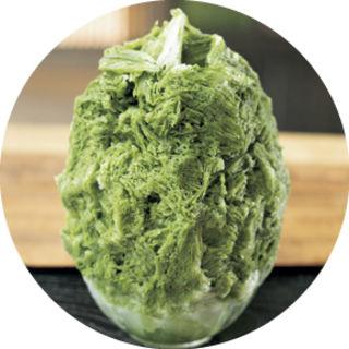 抹茶のかき氷(和kitchen かんな (和キッチン かんな))