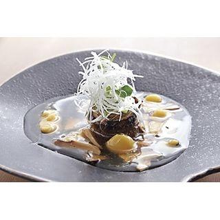 サンマのロースト~松茸と栗のあんかけ~(美の)