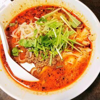 麻辣刀削麺(陳家私菜 赤坂一号店 湧の台所)