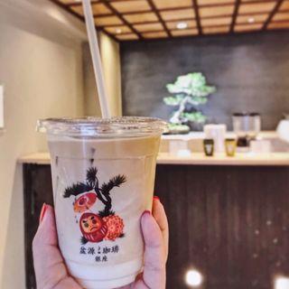 カフェラテ(bongen coffee)
