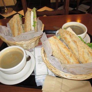 アンシェンザムカマンベールチーズサンド(PAUL 京都三条店 (ポール))
