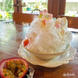 アチーズパッションかき氷(A TABLE ! (ア ターブル))