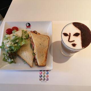 BLTサンドモーニング(よーじやカフェ 三条店)