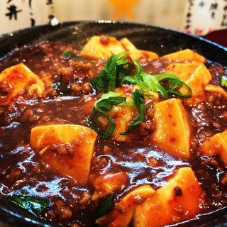 特製マーボー丼(堂山食堂)