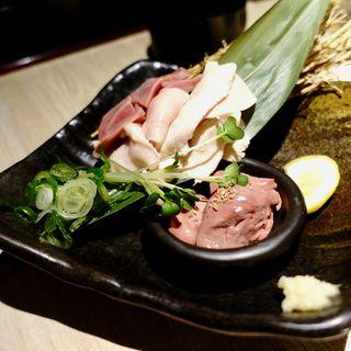 新鮮鶏のお刺身盛り(馳走庵 京橋店 )