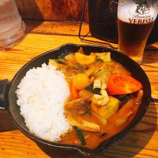 1日分の野菜カレー(キャンプエクスプレス 品川店 (camp express))