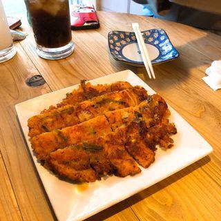 キムチ チヂミ(韓国居酒屋 晴-ハレル- )