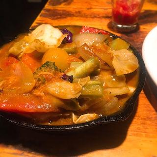 一日分の野菜カレー(野菜を食べるカレー camp)