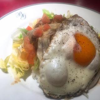 短角牛のロコモコ(ブラッスリー ギョラン (Brasserie Gyoran))