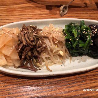 ナムル5種盛り(韓国鶏鍋 GOCHU (コチュ))
