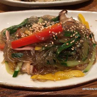チャプチェ(韓国鶏鍋 GOCHU (コチュ))