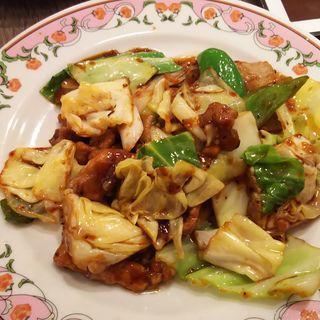 回鍋肉(餃子の王将 ウィング川崎店)