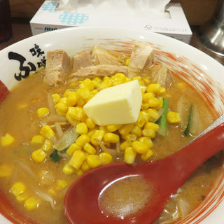 味噌コーンバターラーメン(味噌蔵ふくべえ)