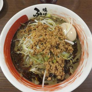 黒胡麻味噌担々麺(味噌蔵ふくべえ)
