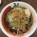 黒胡麻味噌担々麺