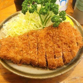 とんかつ(ロース)定食(丸一 (まるいち))