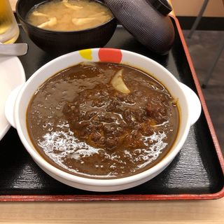 ハンバーグカレー(松屋 祖師谷大蔵3丁目店)