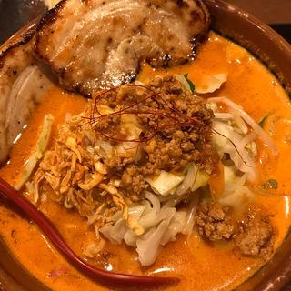 北海道辛味噌野菜らーめん+炙りチャーシュー2枚(麺場 田所商店 木更津店 )