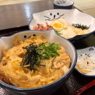 かつ丼セット(のらや アリオ鳳店 )