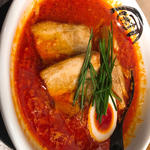 男の旨辛味噌 + 麺大盛 太麺
