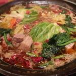 激辛火鍋(マルミ羊肉店)