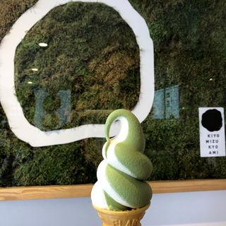 ソフトクリーム(清水 京あみ (京阿彌 きょうあみ))