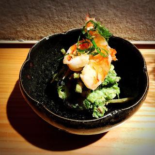 焼えびと青のりのポテトサラダ(池尻大橋 ひとしずく)