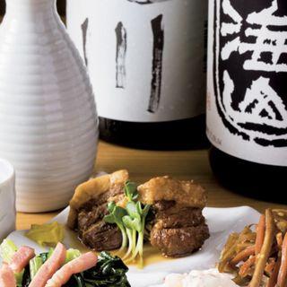 選べるおばんざいの4種盛り(為御菜 東京駅黒塀横丁店 (おさいのため))