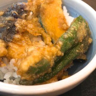 ミニ野菜天丼(三松庵 )