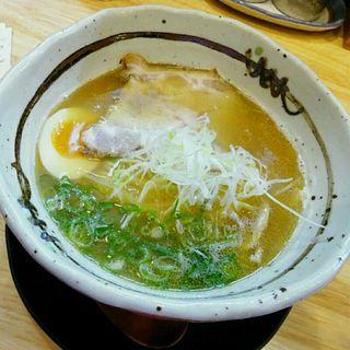 煮干し香るらぁ麺(麺匠 たか松 北新地店)