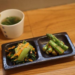 おばんざい二種盛り(kokochi)