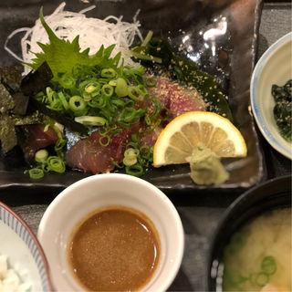 ゴマ鯖定食(SOLAE DINING 海鮮 七菜彩)