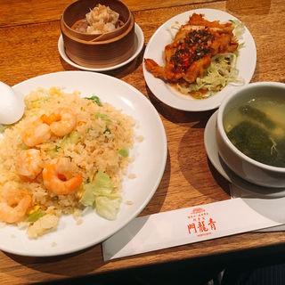 炒飯と油淋鶏セット(青龍門 横浜みなとみらい店 (セイリュウモン))