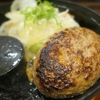 手ごねハンバーグ(神戸牛ハンバーグとステーキの店 いち 本店 )