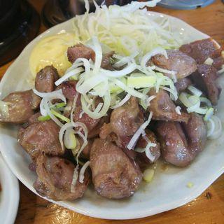砂肝定食 半ライス(二代目蝦夷 )