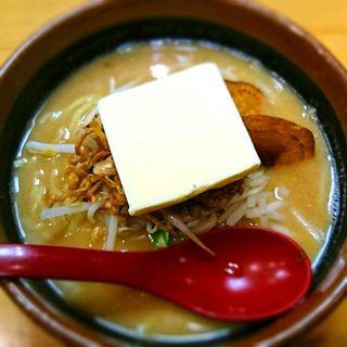 北海道味噌バターラーメン(蔵出し味噌 麺場 田所商店 (たどころしょうてん))
