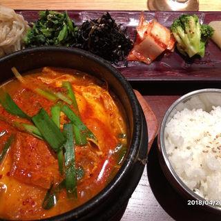 特製チゲランチ(KOREAN 水刺間)