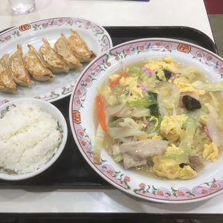 春の彩あんかけチャンポン/フェアセットB(餃子の王将 狸小路5丁目店)
