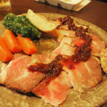 糸島豚のローストポーク